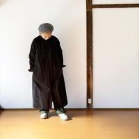 *レディース*15-jyugo-ホースクロス tabi ワンピース /ブラック