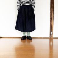 *レディース*TIGRE BROCANTE-ティグルブロカンテ-6オンスデニムポケットフィセルスカート