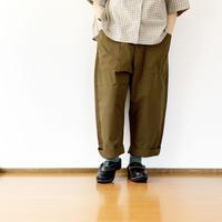 *ユニセックス*KAFIKA-カフィカ-WEATHER CLOTH DECK PANTS(KUPT002)/カーキ