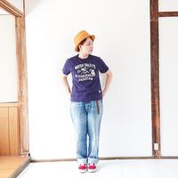 レディース*快晴堂-カイセイドウ-Girl's USED Tシャツ/ネイビー