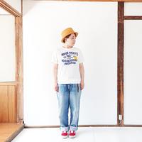 レディース*快晴堂-カイセイドウ-Girl's USED Tシャツ/ホワイト