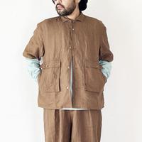 *ユニセックス*SLOWHANDS-スローハンズ-fine linen wayferer H/S shirts