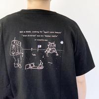 レディース*快晴堂-カイセイドウ-スペースT BIG-Tシャツ/マンonムーン
