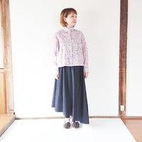 *レディース*SETTO-セット-OKKAKE SHIRT オッカケシャツ LIBERTY 「Wild flowers」