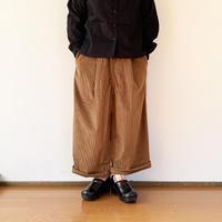"""*レディース*KELEN-ケレン- 2Tuck Easy Wide Pants コーデュロイ """"Soi"""" /キャメル"""