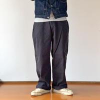 ユニセックス*MASTER&Co*マスターアンドコーLong Chino Pant with Belt オフィサーチノ(ブラック)