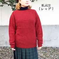 HARLEY OF SCOTLAND★ハーレーオブスコットランド★クルーネックセーター BLAZE(レッド)