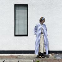 *レディース*Commencement-コメンスメント-Stripe shirts onepiece (C-108CS)