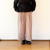 """*レディース*KELEN-ケレン- 2Tuck Easy Wide Pants コーデュロイ """"Soi""""/スモークパープル"""