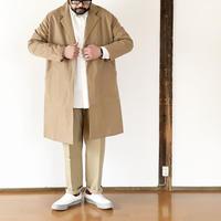 ユニセックス*NAPRON★-プロン-綿麻生地 ATELIER WORK COAT ver3/ベージュ