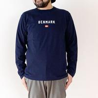 ユニセックス*快晴堂-カイセイドウ-ステートT UNI長袖Tシャツ(11C-104B) /SIZE5と6 デンマーク
