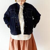 *レディース*TIGRE BROCANTE-ティグルブロカンテ-8オンスデニムバータックシャツジャケット