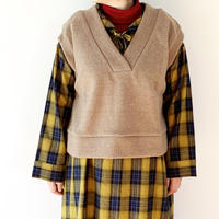 """*レディース*KELEN-ケレン-Wide knit vest """"Asui"""" ワイドニットベスト"""