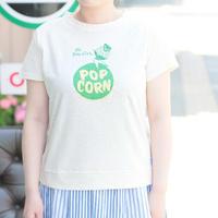 *レディース*clip.tab★クリップタブ★ラフコット天竺レトロプリントTシャツ(3182C-020)