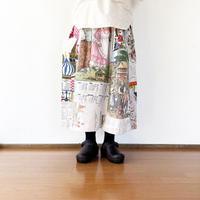 *レディース*TIGRE BROCANTE-ティグルブロカンテ-VINTAGE CLOTH SKIRT  B柄
