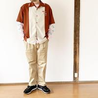 *ユニセックス*KAFIKA-カフィカ-Westpoint loungez wide pants(kfk140) 男性着用