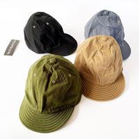 全4色*ユニセックス*NAPRON-ナプロン-GARDENER CAP  コットン帆布ガーデナーキャップ