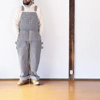 男性34インチ着用*ユニセックス*TCB jeans-ティーシービージーンズ-  TCB HANDYMAN PANTS HICKORY STRIPE