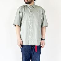 *ユニセックス*amne-アンヌ-solid R.C H_s shirts