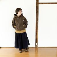 レディース*KAFIKA-カフィカ-HIGH DENSITY WEATHER CLASSICAL DRESS SKIRT/ブラック