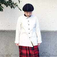 *ユニセックス*DAILY WARDROBE INDUSTRY★SHIRT OPEN CREW NECK クルーネックシャツ