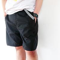 全2色*ユニセックス*SLOWHANDS-スローハンズ-nylon stretch relax shorts 強ストレッチ リラックスショーツ