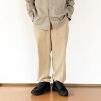 *ユニセックス*LA MOND.-ラモンド-N/C SHIBO TRACK PANTS(LM-P-074)/ベージュ