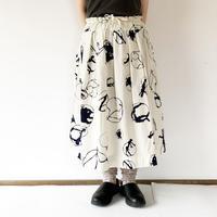 全2色*レディース*TIGRE BROCANTE-ティグルブロカンテ-KAKEIコードポケットフィセルスカート