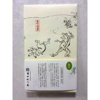 国宝 鳥獣人物戯画 畳紙入り 煎茶80g