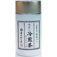 水出し冷煎茶5g×20p 缶入り