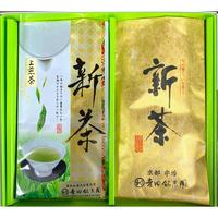№AC-1 宇治新茶 上煎茶100g+特撰煎茶100g箱入り