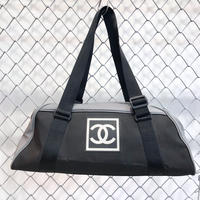 Vintage CHANEL  Sports Nylon Boston