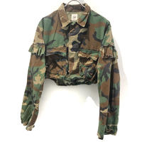 REMAKE Camo Fril Short Shirts【2】