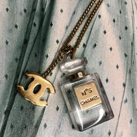 <Vintage CHANEL> COCO BOTTLE NECKLACE