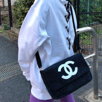 CHANEL NOVERTY PILE BAG/Black&White