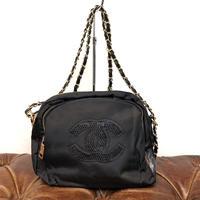 Vintage CHANEL NOVERTY Nylon Spangle Shoulder Bag 2