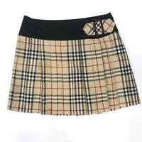 Burberry Check Mini Skirt