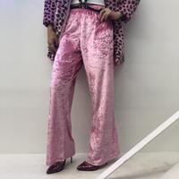 Vintage Pink Velour Easy Pants