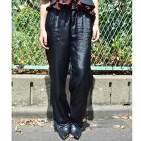 Vintage  Satin Pants BLACK