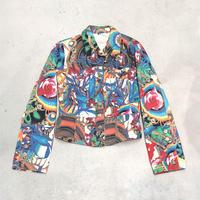 Vintage  Colorful G Jacket