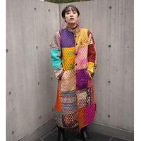 Vintage  Patchwork Quilt Coat
