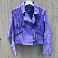 Vintage  Miss Sixty Suede Fringe Jacket