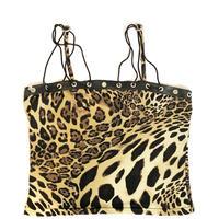 Vintage Leopard Design Camisole