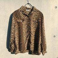 Vintage Leopard chiffon Shirts