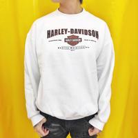 Vintage  Harley Sweat White