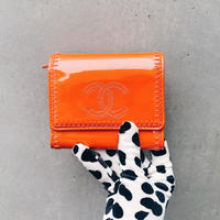 Vintage CHANEL Patent Leather Wallet
