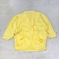Vintage 80s Dolman Yellow Jacket