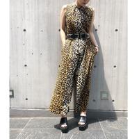 Vintage  Leopard Jumpsuit
