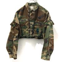REMAKE Camo Fril Short Shirts【3】