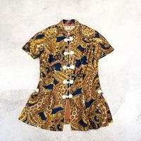 Vintage Paisley textile China Shirt 1728895